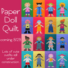 Paper Doll Quilt Update | Doll quilt, Dolls and Blanket & Paper Doll Quilt Update Adamdwight.com