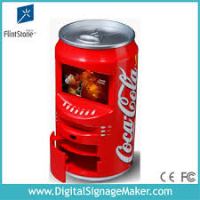 Pop Vending Machine Amazing Beer Vending Machine In Pop Can ShapeWith 48 Lcd Advertising Screen