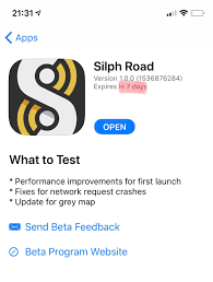 Silph Road app (iOS): TheSilphRoad