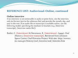 Reference List Interview Monzaberglauf Verbandcom