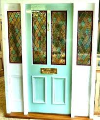 stained glass front door inserts doors exterior with regard to ideas leaded entry regarding designs