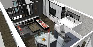 Awesome Salon Cuisine M Maison Avec Cuisine Ouverte Pinacotech With Amenager  Cuisine Salon M With Amnagement Cuisine Salle Manger