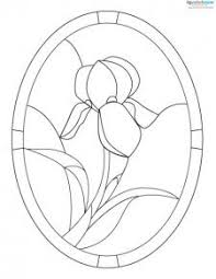 Stained Glass Flower Patterns Delectable Free Stained Glass Patterns