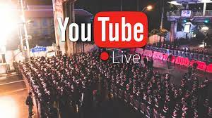 ไลฟ์สดชุมนุม 16 ตุลา กลุ่มผู้ชุมนุมตั้งแนวปะทะใหม่ รถน้ำขยับเข้ามาใกล้ขึ้น  และฉีดน้ำอีกครั้ง - YouTube