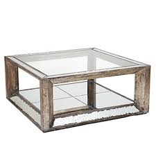 Mirrored Trunk Coffee Table Two Tiered Brass Framed Glass Round Coffee Table Round Mirrored