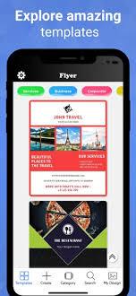 Make Flyer App Flyer Maker Poster Creator On The App Store