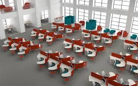 open layout office. Open-plan-office-layout Open Layout Office
