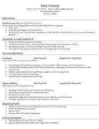 Easy Resume Samples Easy Sample Resume Sample Resume For Fresh