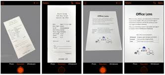 Office Lens Comes To Iphone And Android Microsoft 365 Blog