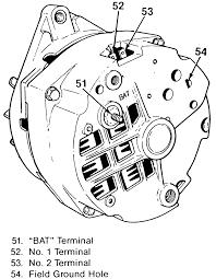 Chevy One Wire Alternator Wiring Diagram