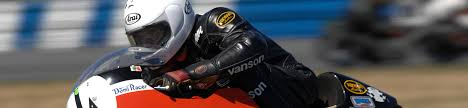 dave roper team obsolete with his vanson racing leathers