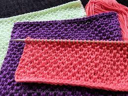 Knit Dishcloth Pattern Cool Dishcloth 48 Pearl Brioche Knitting Unlimited