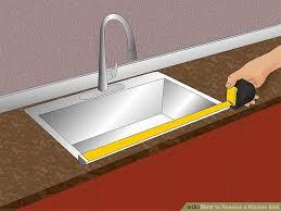 replacing caulking around kitchen sink ideas