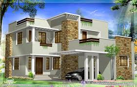 Small Picture General Square Feet Modern House Elevation Kerala Home Design