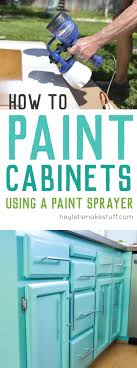 painting cabinets get a perfect finis by taking the time to paint them right