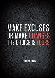 Excuses Quotes Gorgeous Stop With The Excuses Quote Quotes To Live By Pinterest