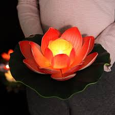 Supply Windproof candle lotus <b>Lantern</b> Festival valentine's day ...