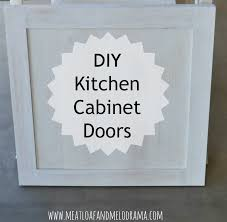how we built our kitchen cabinet doors
