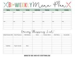 one week menu planner best 25 weekly menu planners ideas on pinterest weekly menu