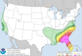 Convective Outlook Chart Whats A Marginal Risk Of Severe Weather Explaining