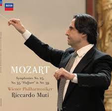 Riccardo Muti & Wiener Philharmoniker - Mozart: Symphonies No. 25, No. 35