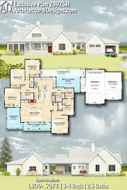 Image Sq Ft Architectural Designs Exclusive House Plan 28925jj Gives You 34 Beds 25 Baths And Arcmax Architect 224 Best Architectural Designs Exclusive House Plans Images In 2019