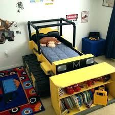 tonka truck toddler bed