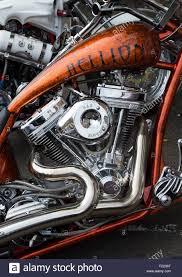 custom chopper motorcycle engine stock photo royalty free image