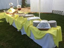 Buffet Table Decorations Ideas Outside Yellow Buffet Table Decoration Buffet Table Decor