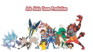 Ash Alola Team Prediction - YouTube