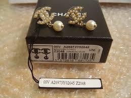 chanel earrings price. chanel pearl earrings price
