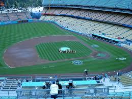 Dodger Stadium Infield Reserve 19 Rateyourseats Com