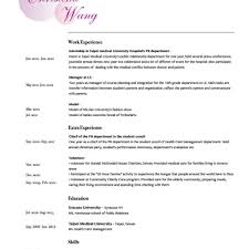 Makeup Artist Resume Example Free Cv Template Entry Level Sample