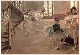 the rehearsal painting the rehearsal by edgar degas
