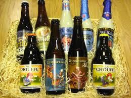 um gift basket fun belgian beers
