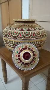 Pot Decoration Designs Sumptuous beaded pot love the intricate design Точечная роспись 61