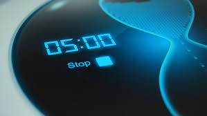 The Timer For 5 Minutes Stock Footage Video 100 Royalty Free
