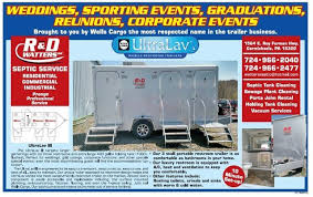 Bathroom Trailer Rental Enchanting Restroom Trailers Portable PortaJohns Carmichaels PA