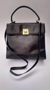 Designer Black Satchel Bags