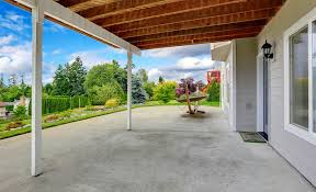 for a mildly dirty concrete patio floor simply wash with dishwashing mixed with water use just enough soap to create a nice foam when mixed with