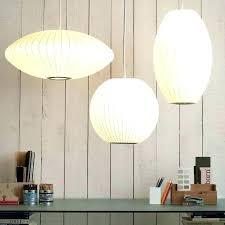 nelson bubble lamp knock off nelson pendant lamp saucer pendant lamp knock off full image for