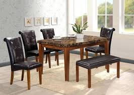 dining table w bench set 6 and john lewis
