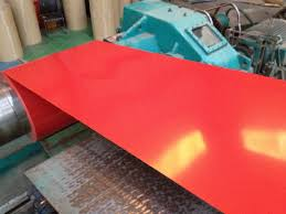 cold rolled colored galvanized sheet metal painting galvanized steel