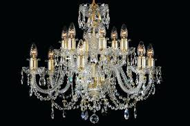 12 light chandelier classic style in brass with gold candle sleeves black iron