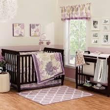 the peanut shell dahlia crib bedding and accessories