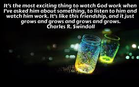 Quotes For Him New It's the most exciting thingCharles R Swindoll Quotes with
