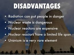 disadvantages of nuclear power by pauls micus nuclear energy