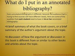 Annotated Bibliography  Outline  and Citations MLA  WHAT IS IT     The National Academies Press Page