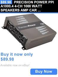car amplifiers precision power ppi a1000 4 4 ch 1000 watt car amplifiers precision power ppi a1000 4 4 ch 1000 watt speakers amp