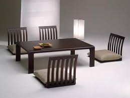 dining room furniture charming asian. Interesting Dining Fabulous Espresso Polished Low Japanese Dining Table With Floor Chairs Gray  Seater On White Full Areas Rug In Wall Room Color Schemes Ideas Intended Furniture Charming Asian N